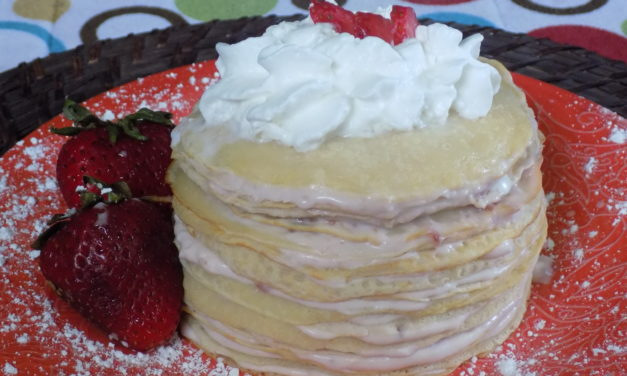 Crepe Cake with Nellie's Free Range Eggs & giveaway!