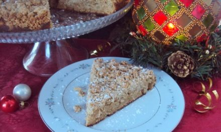 Apple Cinnamon Crumb Cake ~Have a GRAIN Holiday