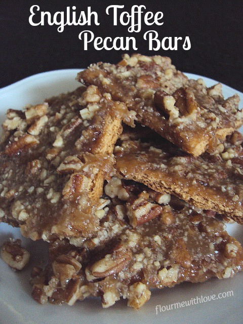 Quick & Easy English Toffee Pecan Bar Recipe