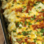 Featuring You ~ Loaded Baked Cauliflower Casserole
