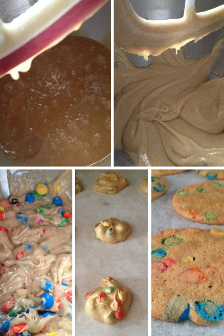 These soft, chewy M&M cookies are simple to make, and delicious to enjoy!