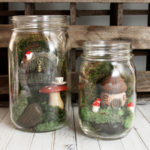 Featuring You ~ Mason Jar Fairy Gardens