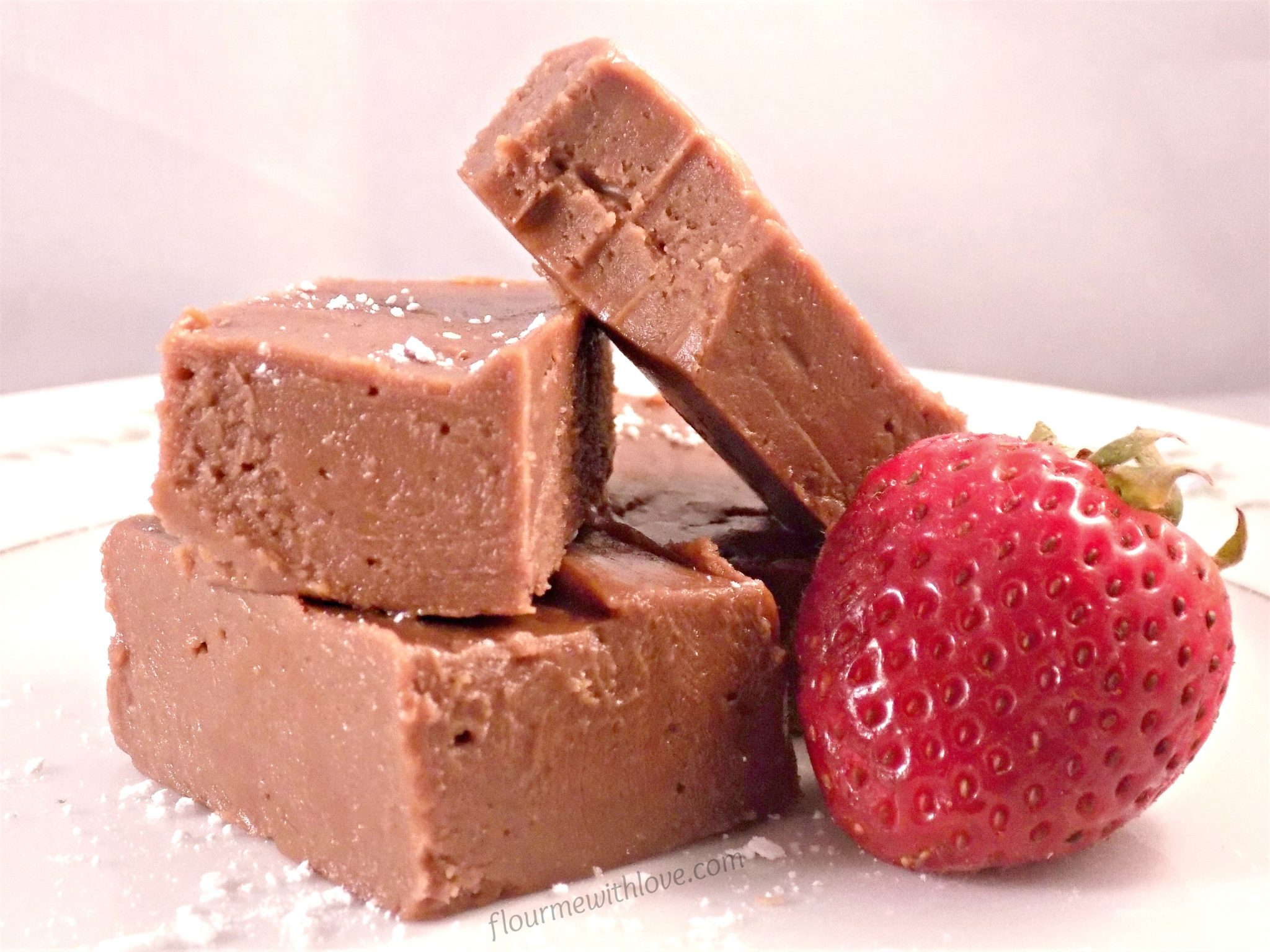 Easy Creamy Chocolate Hazelnut (Nutella) Fudge made in the microwave!