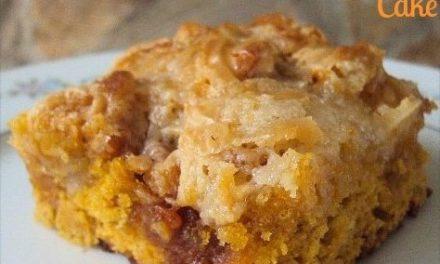 Pumpkin Earthquake Cake