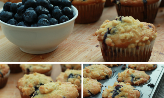 Featuring You ~ Blueberry Banana Muffins