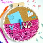 Featuring You ~ DIY Embroidery Hoop Wall Organizer
