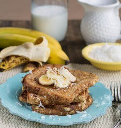 Coconut Banana French Toast