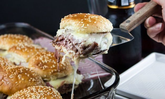 Featuring You ~ Roast Beef Sliders with Horseradish Sauce