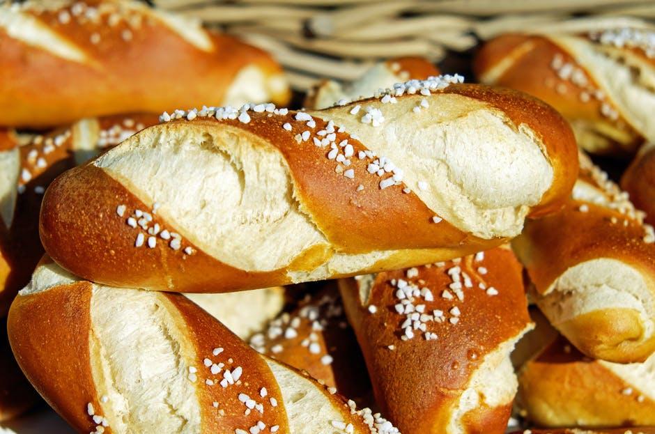 Pretzel Bread Rolls