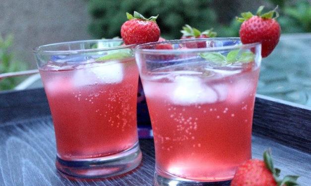 Fruity Fresh Lemonade Mocktail