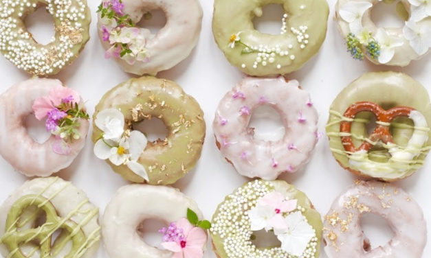 Easy Fancy Matcha Donuts